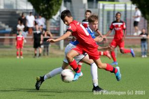 Verbandsstaffel - SSV U14 vs. VfL Pfullingen U15 (18.09.21)