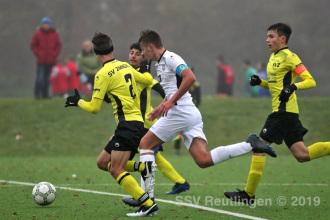Verbandsstaffel Süd - SSV U17 vs. SV Zimmern U17 (17.11.19)