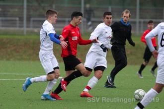 Verbandsstaffel Süd - SSV U17 vs. TSG Ehingen U17 (01.12.19)