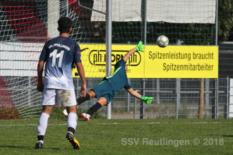 Verbandsstaffel Süd - SSV U17 vs. VfL Pfullingen U17 (30.09.18)