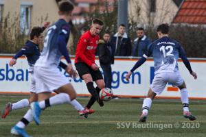 Verbandsstaffel Süd - VfL Pfullingen U17 vs. SSV U17 (01.03.20)