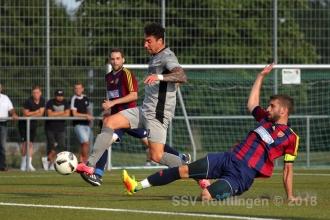 wfv-Pokal 2. Runde - SSC Tübingen vs. SSV (15.08.18)
