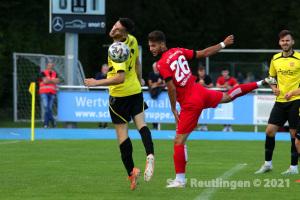 wfv-Pokal 2. Runde - SV 03 Tuebingen vs. SSV (28.07.21)