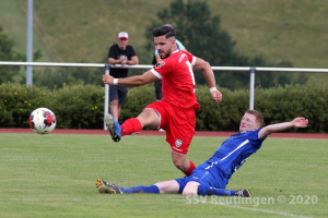 wfv-Pokal 2. Runde - SV Baiersbronn vs. SSV (15.08.20)