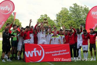 wfv-Pokal Finale 2020-21 - SSV U19 vs. SGV Freiberg U19 (25.07.21)