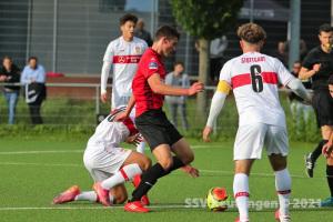wfv-Pokal Viertelfinale 2020-21 - SSV U19 vs. VfB Stuttgart U19 (13.07.21)