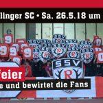 Bahlinger SC gastiert am letzten Spieltag an der Kreuzeiche