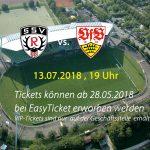FUSSBALLKRACHER – SSV Reutlingen testet am 13. Juli gegen den VfB Stuttgart an der Kreuzeiche
