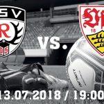 Informationen zu Ihrem Stadionbesuch am 13.07. gegen den VfB Stuttgart
