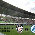 Ticketvorverkauf für das Spiel gegen die Stuttgarter Kickers