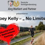 "Grosser Charity-Spendenlauf und Motivationsvortrag ""No Limits"" am 08.05.2020 mit Joe Kelly"