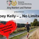 """Grosser Charity-Spendenlauf und Motivationsvortrag """"No Limits"""" am 08.05.2020 mit Joe Kelly"""