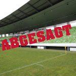 Spiel gegen 1. Göppinger Sportverein 1895 e.V. am Samstag findet nicht statt – Spielbetrieb in den Oberligen Baden-Württemberg ausgesetzt