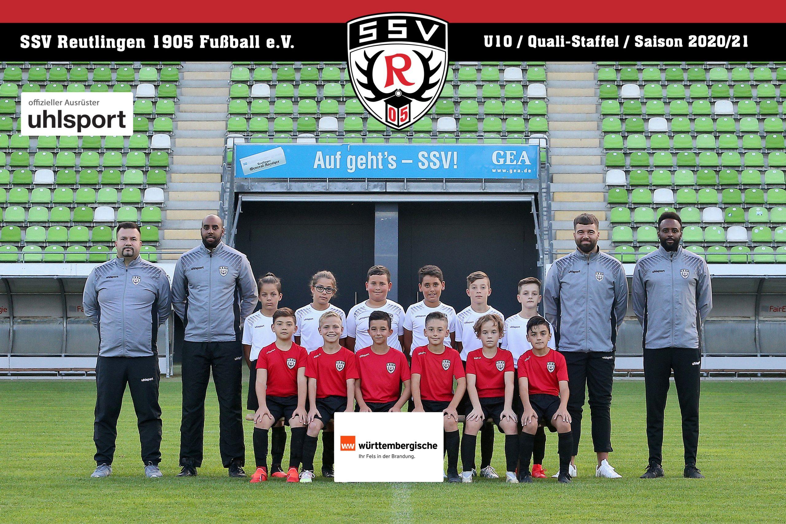 Fussball | SSV Reutlingen / Mannschaft U10 - Saison 2020/21