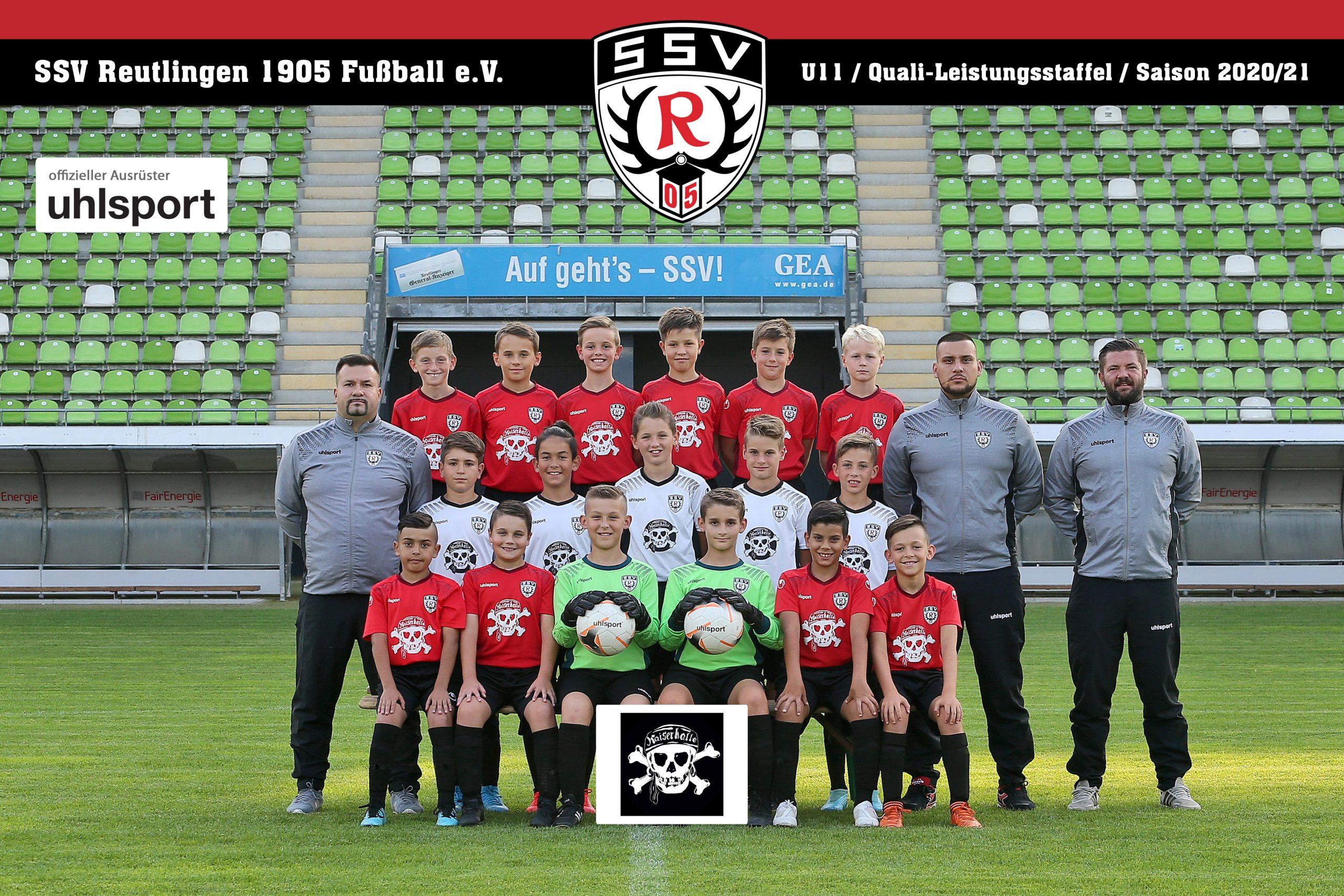 Fussball | SSV Reutlingen / Mannschaft U11 - Saison 2020/21