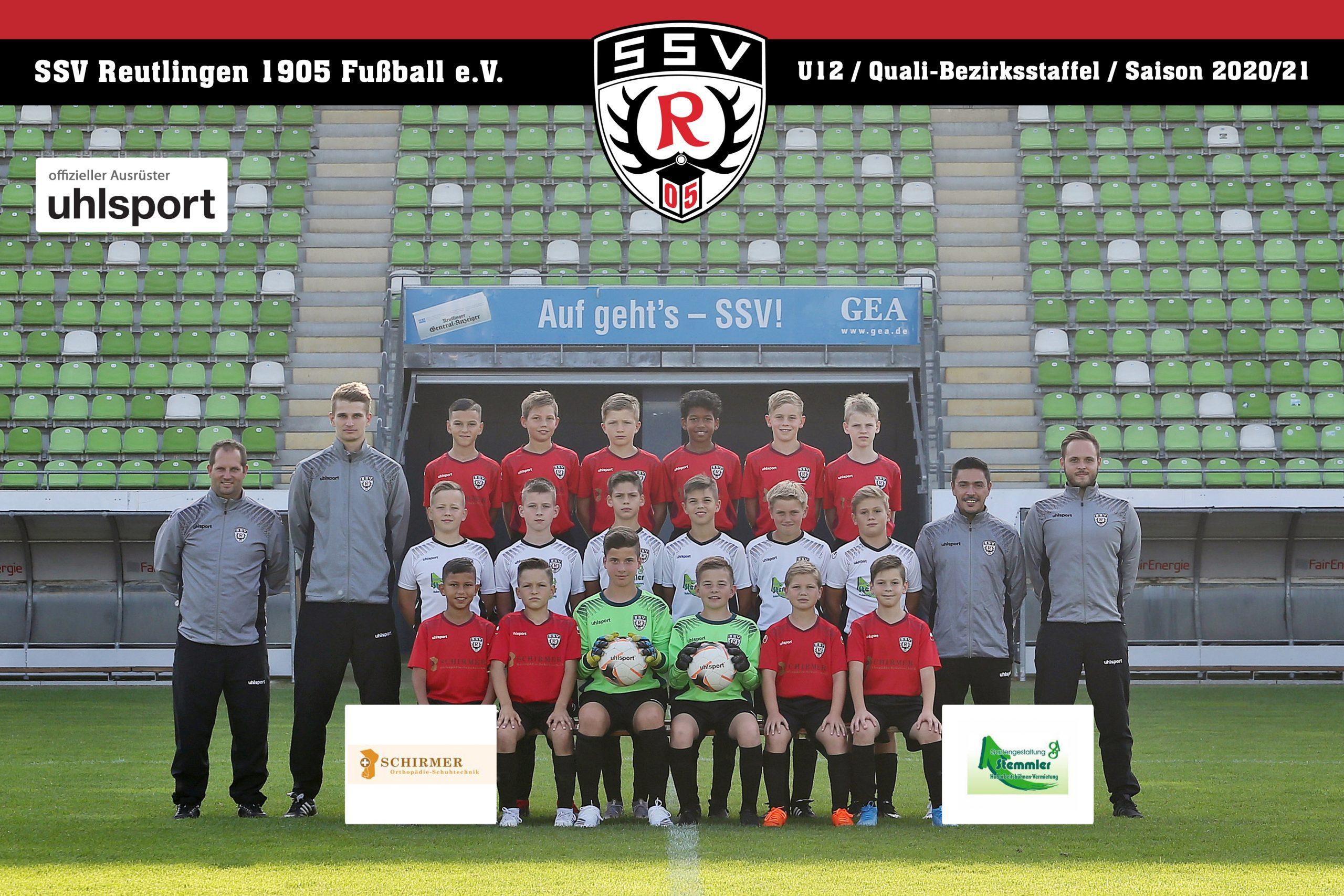 Fussball | SSV Reutlingen / Mannschaft U12 - Saison 2020/21