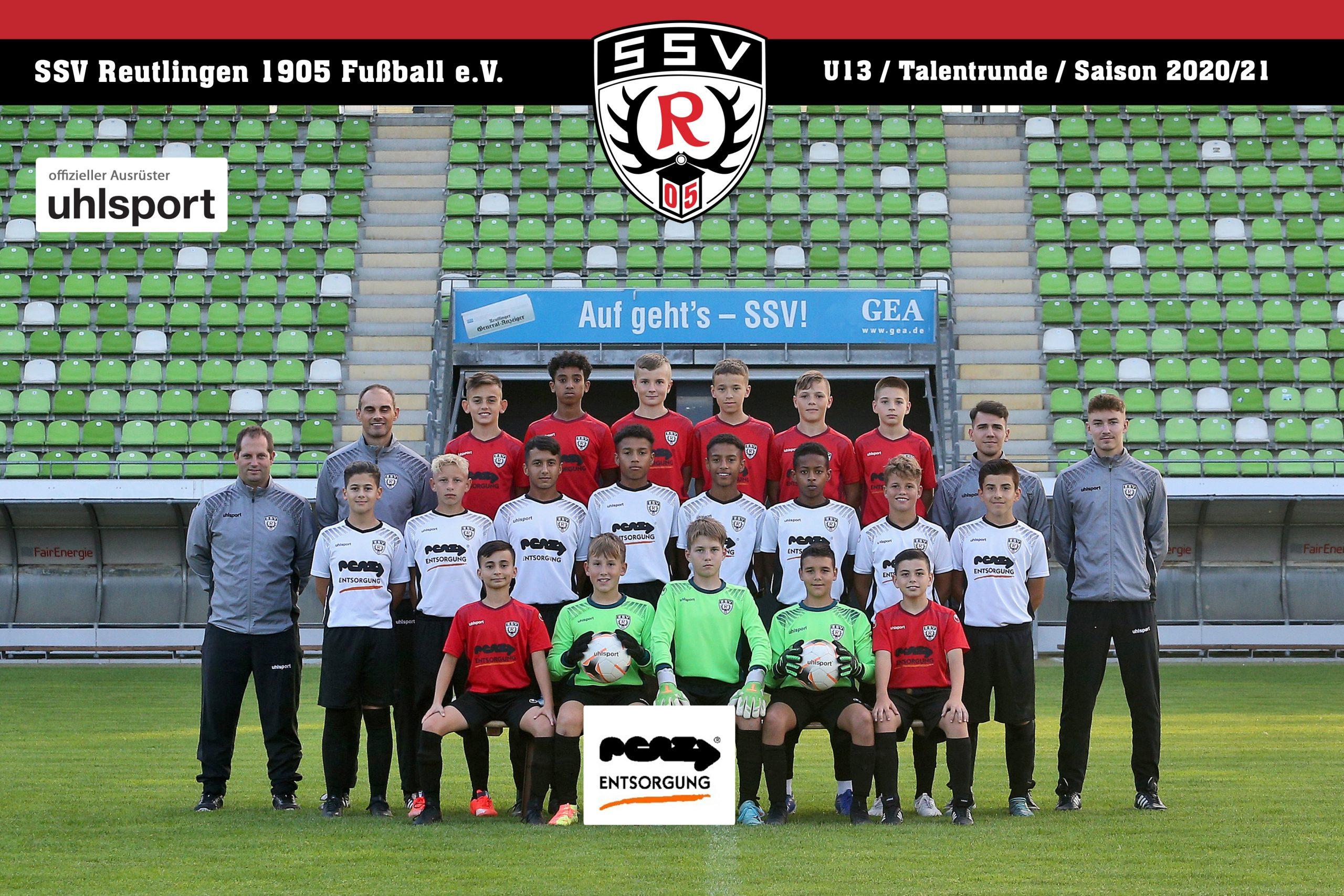 Fussball | SSV Reutlingen / Mannschaft U13 - Saison 2020/21