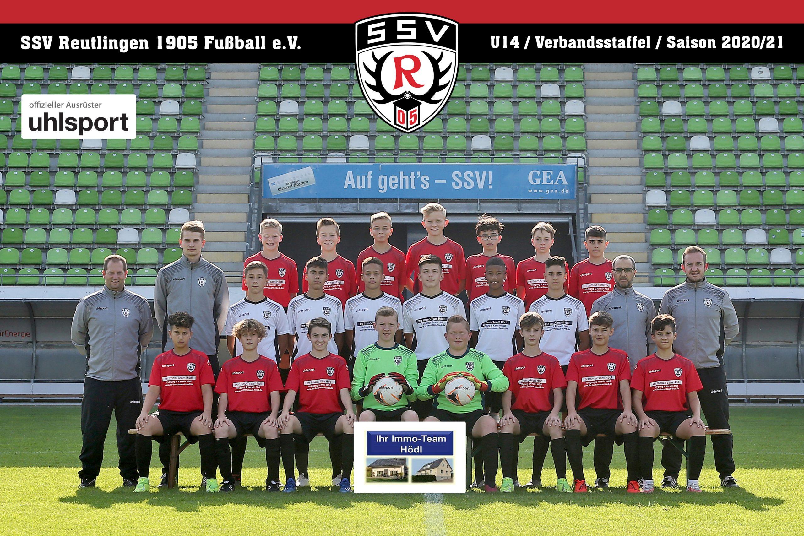 Fussball | SSV Reutlingen / Mannschaft U14 - Saison 2020/21