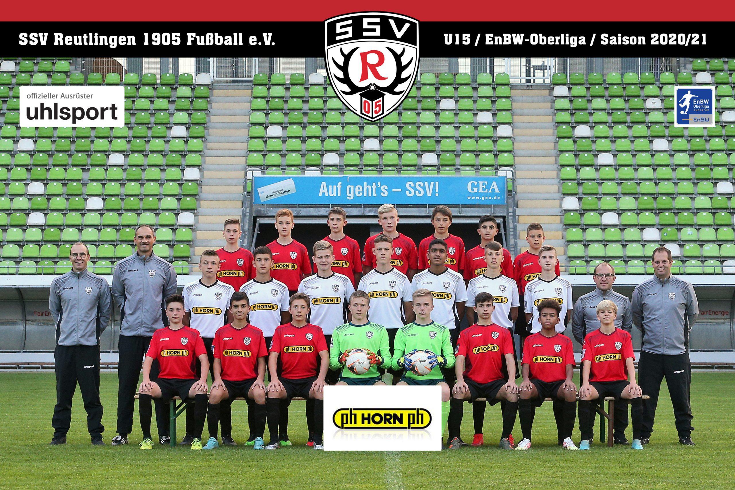 Fussball | SSV Reutlingen / Mannschaft U15 - Saison 2020/21