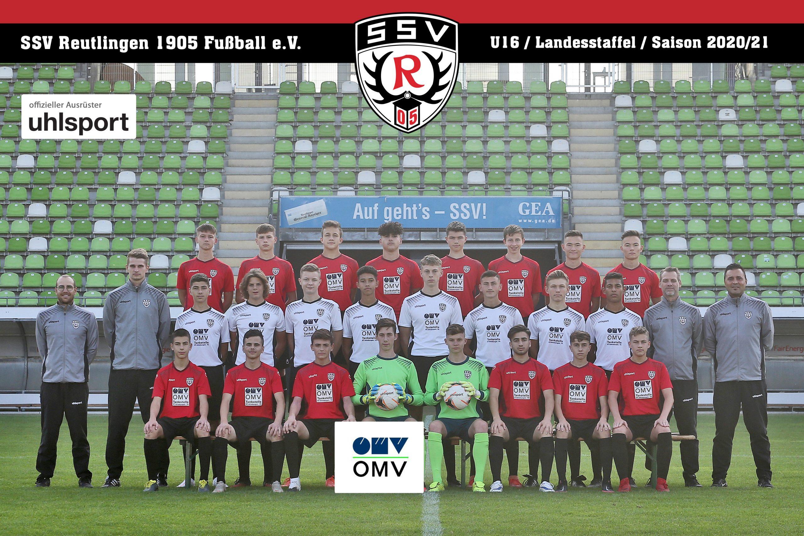 Fussball | SSV Reutlingen / Mannschaft U16 - Saison 2020/21