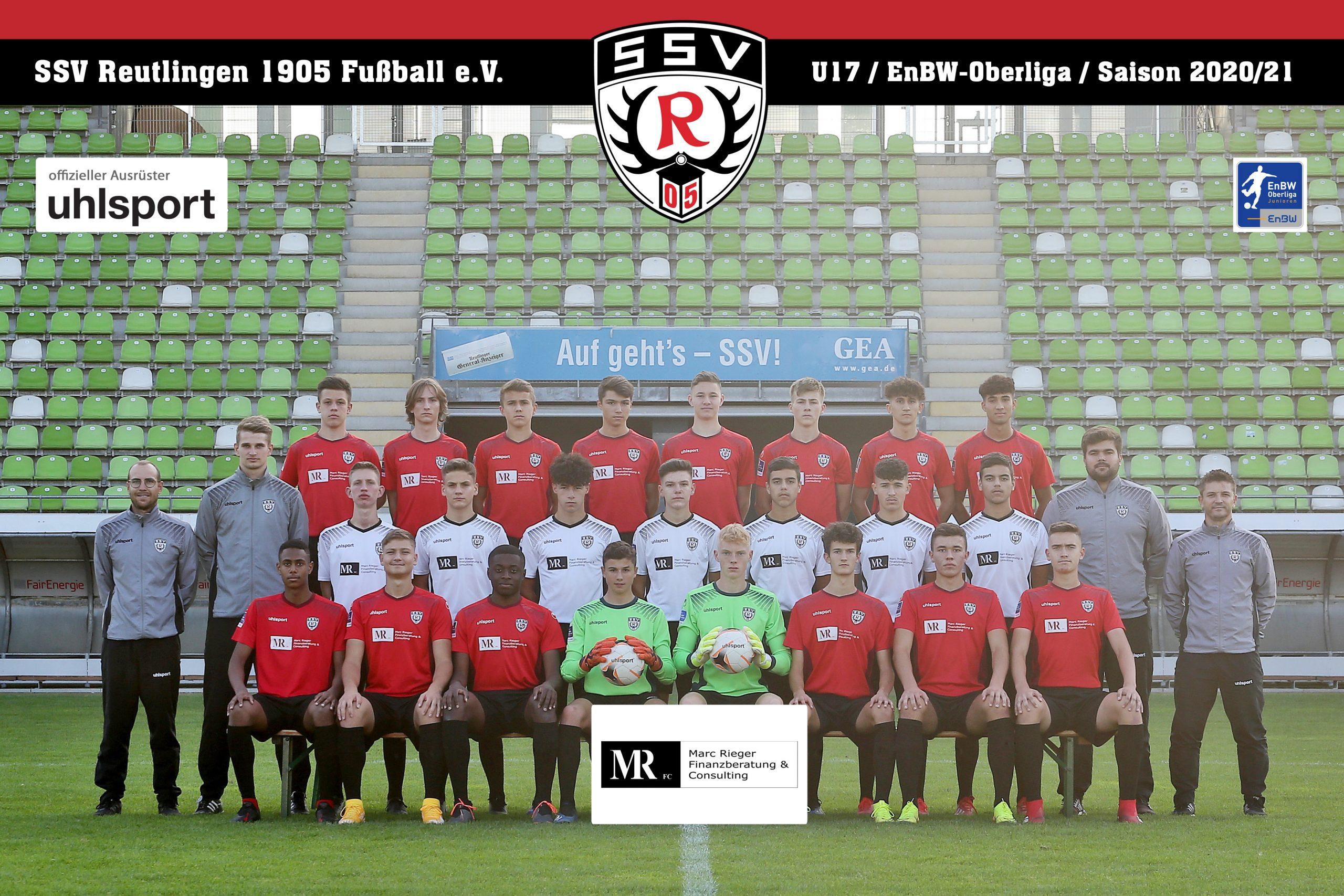 Fussball | SSV Reutlingen / Mannschaft U17 - Saison 2020/21