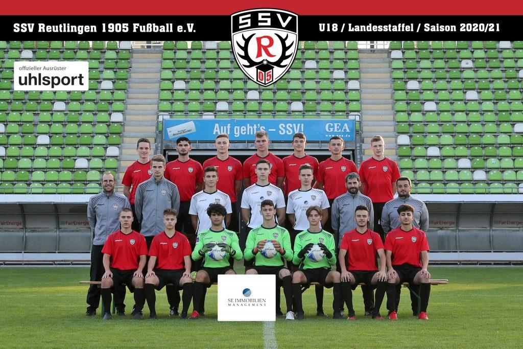 Fussball | SSV Reutlingen / Mannschaft U18 - Saison 2020/21