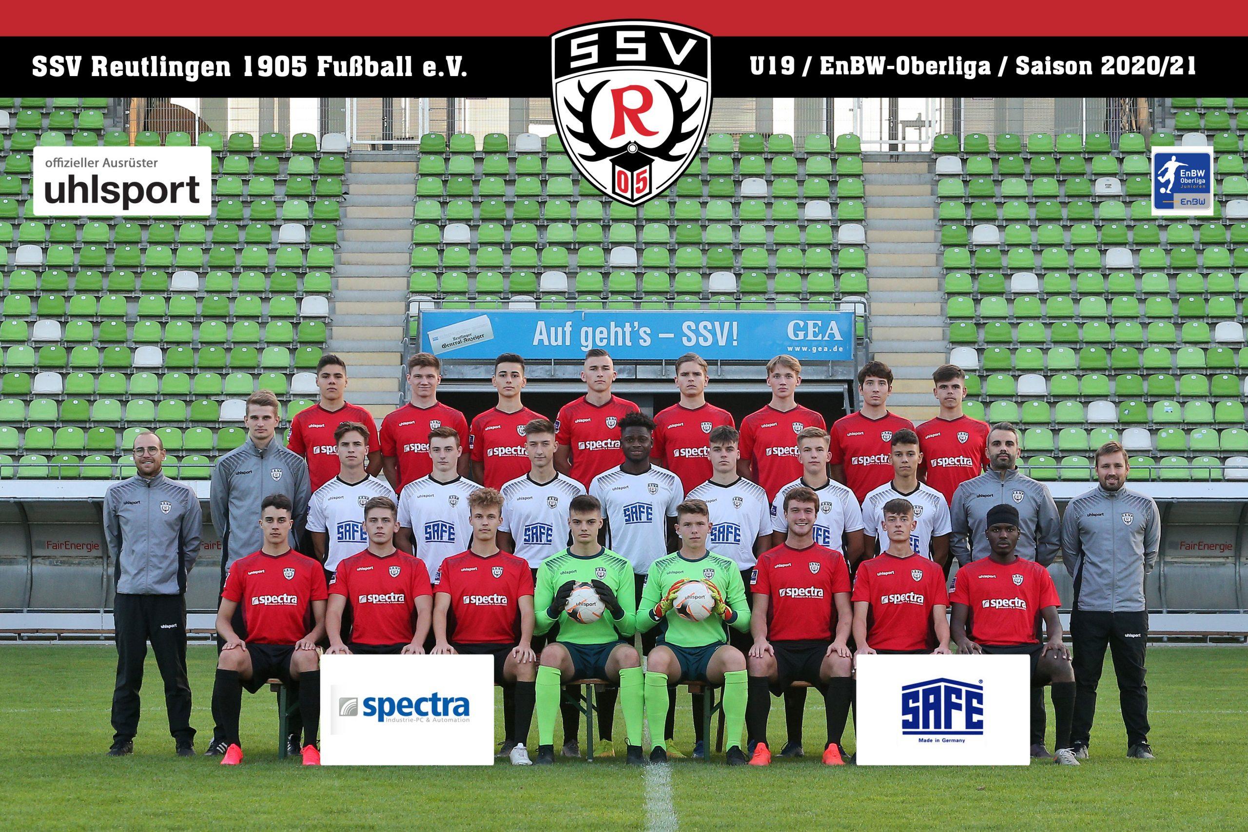 Fussball | SSV Reutlingen / Mannschaft U19 - Saison 2020/21