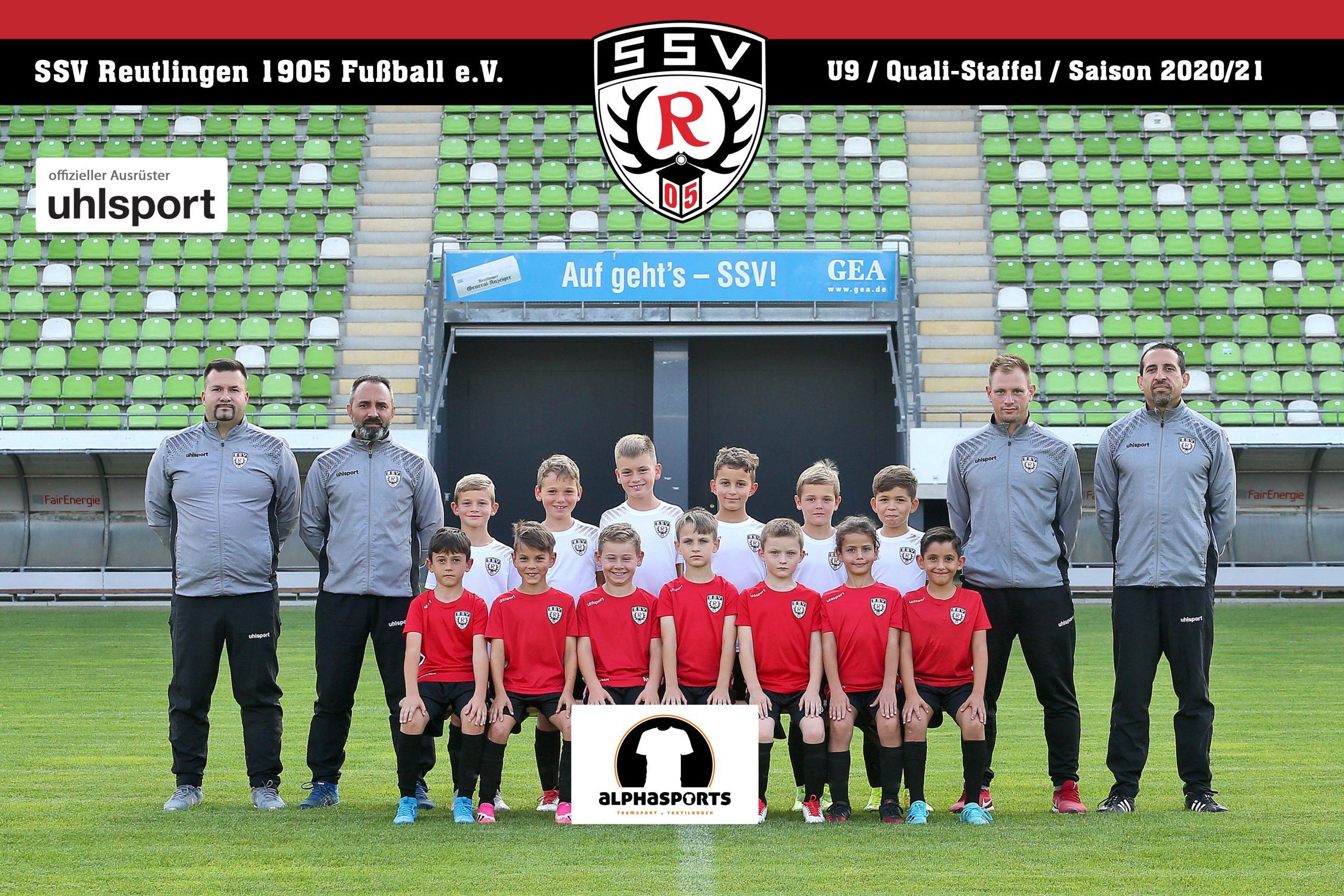 SSV Reutlingen U9 - Saison 2020/21