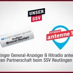Sponsoring Reutlinger General-Anzeiger und Hitradio antenne 1