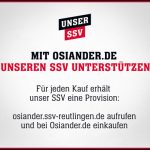 SSV Reutlingen und Osiandersche Buchhandlung kooperieren