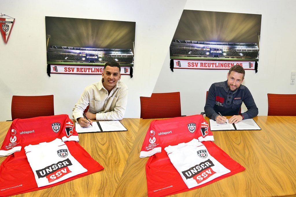 Bleart Dautaj und Michael Konietzny wechseln zum SSV Reutlingen 05.