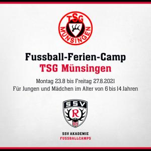 Fussball-Ferien-Camp TSG Münsingen