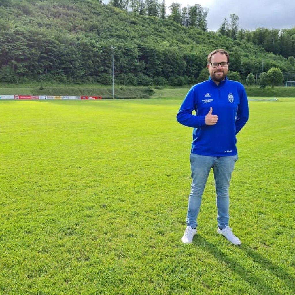 Adrien Stiefel, Vorstand FC Onstmettingen