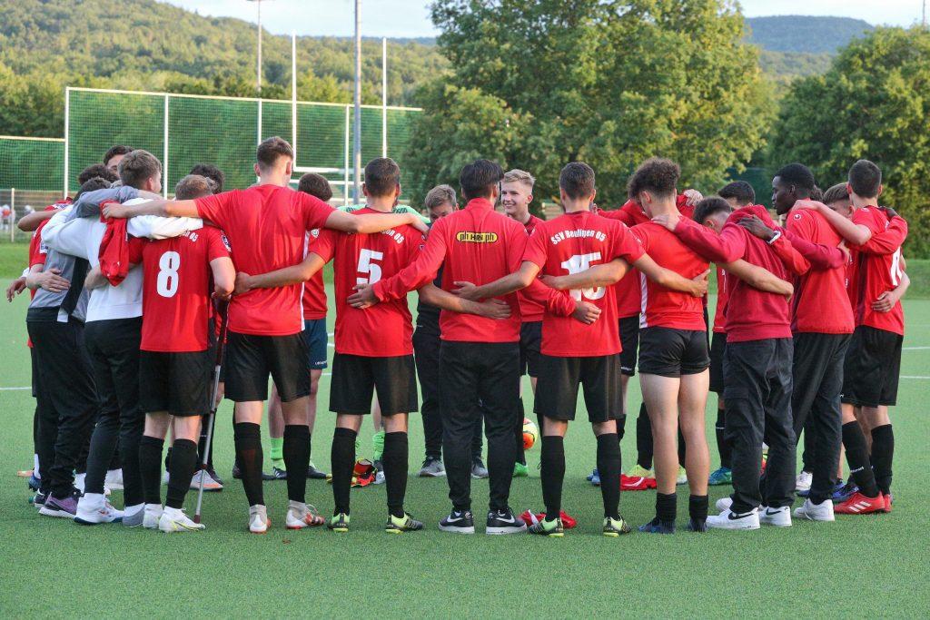 U19 SSV Reutlingen nach dem Sieg gegen die VfB A-Junioren