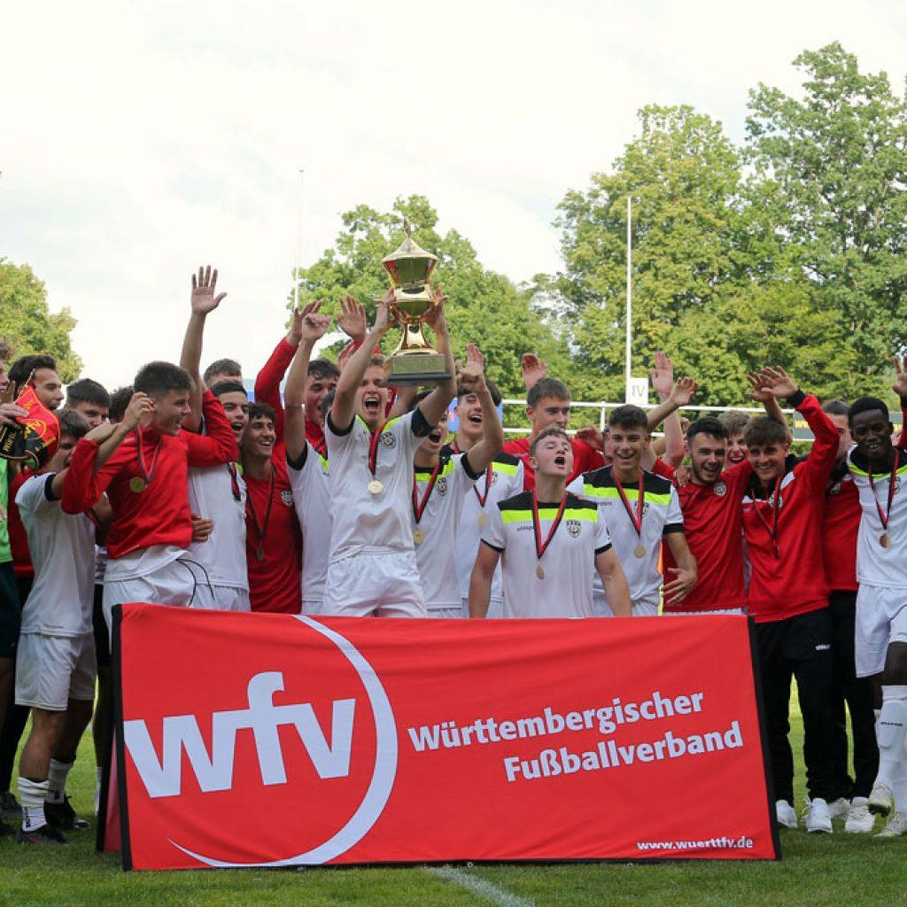 U19 des SSV Reutlingen 05 gewinnt Verbandspokal