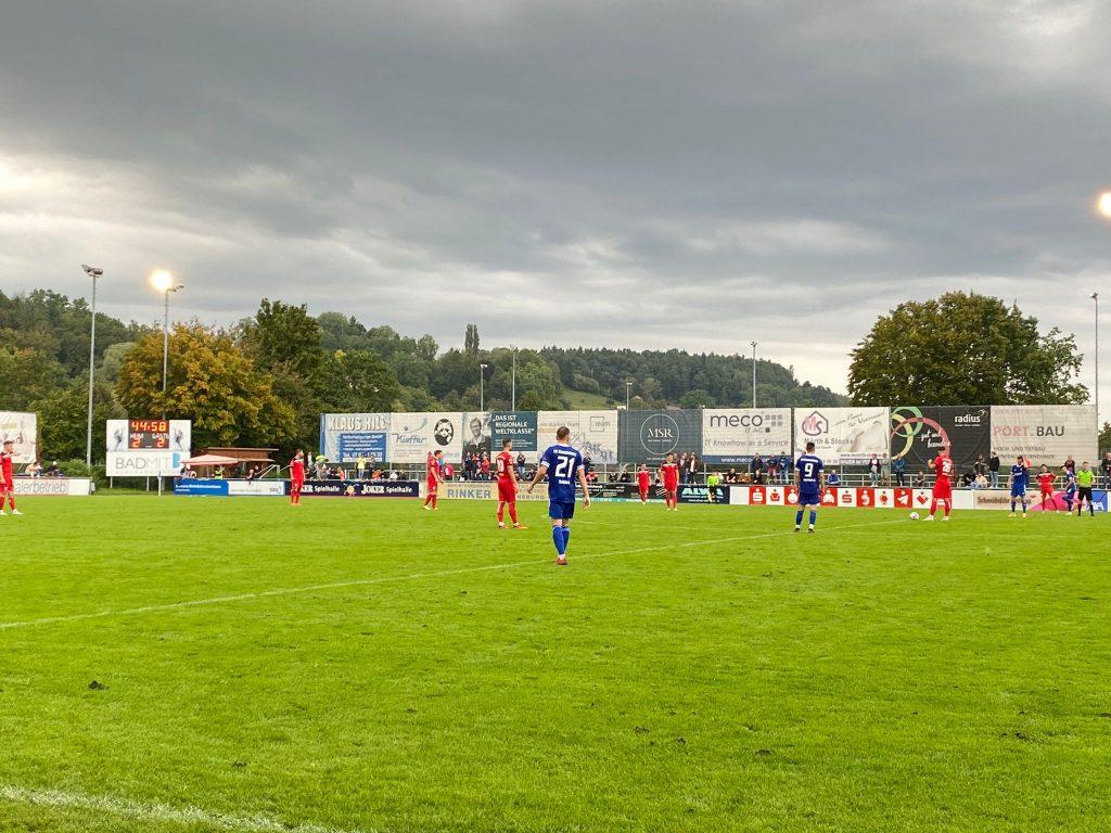 FV Ravensburg gegen SSV Reutlingen 05